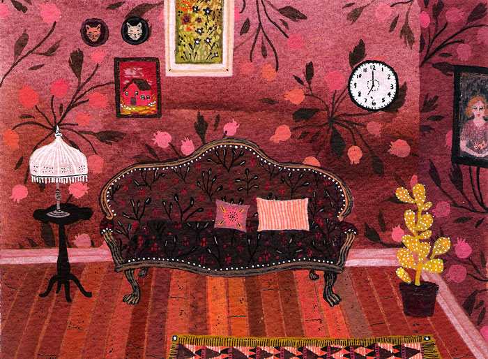 Living Room, by Becca Stadtlander.