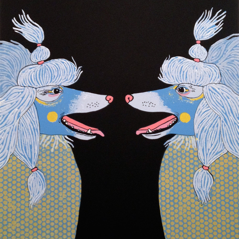 Poodles, by Jennifer Davis.