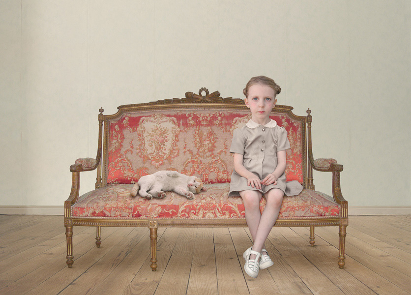 The Waiting Girl. Loretta Lux, 2006.